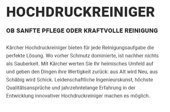 Hochdruckreiniger für 74369 Löchgau