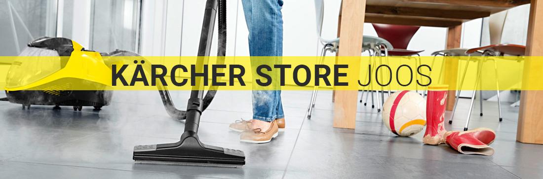 Kärcher Reinigungsgeräte für Untergruppenbach - KÄRCHER-STORE-JOOS: Industriesauger, Dampfreiniger