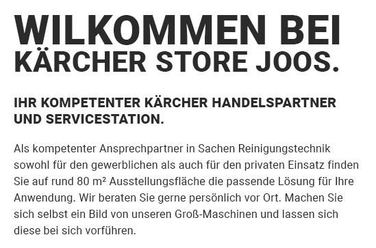 Kärcher Reinigungsgeräte aus  Leingarten, Flein, Talheim, Untereisesheim, Heilbronn, Lauffen (Neckar), Brackenheim und Nordheim, Schwaigern, Massenbachhausen