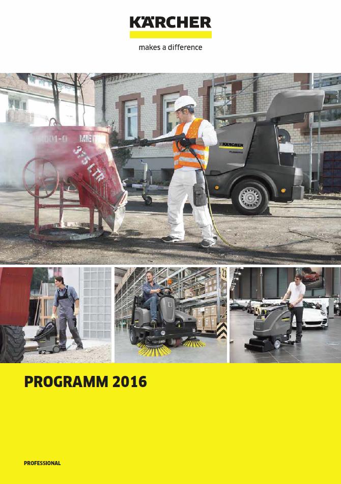 KÄRCHER Bodenreinigungsmaschine und Staubsauger für Ihre Firma aus  Mundelsheim